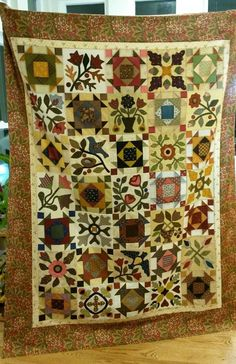 I just finished my quilt!!! I think it turned out funtastic :)