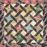 Oriental Friends Quilt by Unique Stitching