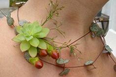 Bijoux végétal