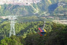 Le téléphérique de Mérida. Le plus haut et plus long du monde.