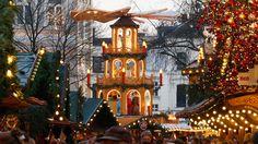Baltimore's Christmas Village at West Shore Park