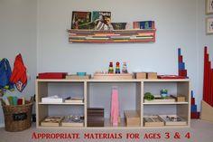 How to Organize a Montessori Homeschool Classroom from Montessori MOMents