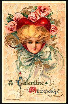 antique valentine images - Google Search