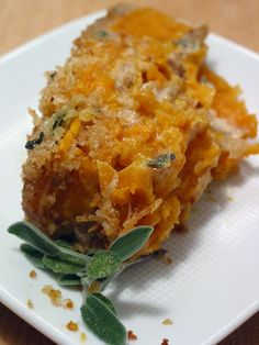 sweet potato & sage gratin. one of my favorite fall recipes - this will definitely be making a thanksgiving appearance this year.