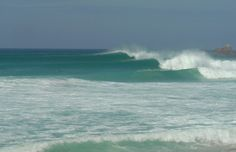 Oh Gwenver how I miss you. This is how good it can get in Cornwall. You can almost miss the surfers!