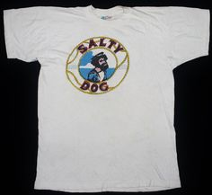 RARE VINTAGE 60's 1969 PROCOL HARUM SALTY DOG ROCK TOUR CONCERT PROMO T-SHIRT #GraphicTee