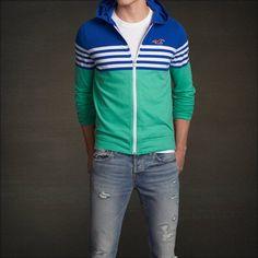 Hollister Mens Hoodie - Awesome hoodie, fit well as a medium