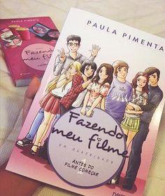 Resenha Fazendo Meu Filme HQ - Paula Pimenta