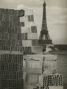 André Kertész, The Eiffel Tower, Paris, 1933.