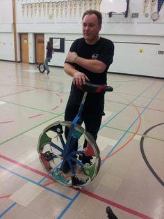 Un drôle de Monocycle
