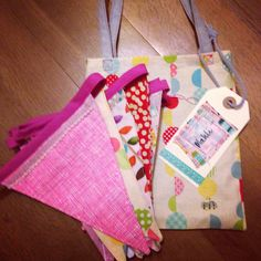 Bunting in a bag
