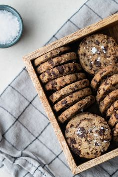 Chocolate Chip Cookie, Chocolate Chips, Fika, Something Sweet, Baked Goods, Sweets, Bread, Cookies, Desserts