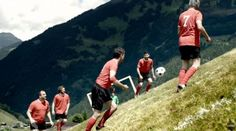 Extreme Alpine Soccer Is Played on Impossible Slopes - Neatorama