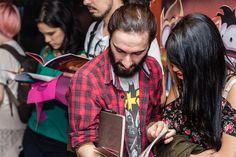 Evento de lançamento da coleção Tentáculos da Polvo Rosa Books. Foto: Fernando Alexandrino #fernandoalexandrinofoto