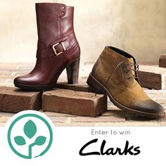 #win a free pair of @Clarks Shoes this week at PlanetShoes! www.planetshoes.com/giveaways