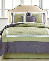 CLOSEOUT! Avery 5 Piece Embroidered Comforter Sets