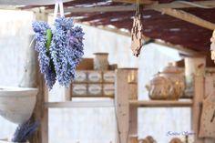 lavandel colour set in summer, love