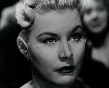 Barbara Payton from 1953 Bad Blonde. Actress!   B: November 16, 1927-May 08, 1967.