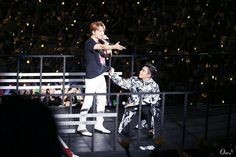 TOP & DAESUNG , on BIGBANG 0.TO.10 Anniversary Concert on Seoul <160820> #ToDae #BIGBANG