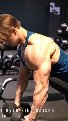 Abs And Cardio Workout, Push Workout, Gym Workouts For Men, Gym Workout Videos, Weight Training Workouts, Gym Workout For Beginners, Dumbbell Workout, Shoulder Workout Routine, Shoulder Workout At Home