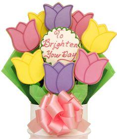 Más Tulipanes (Chocolate Regalo Flower Bouquets)