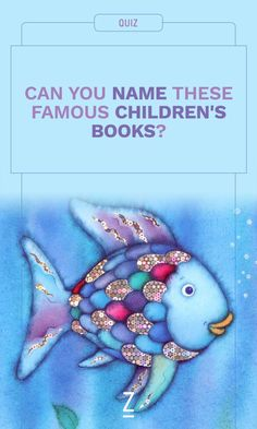 Take the quiz — how many children's books can you name from the cover?