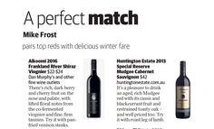 Mike Frost reviews the Huntington Estate Special Reserve Cabernet Sauvignon in the Brisbane News Brisbane News, Cherry Fruit, Cabernet Sauvignon, Fine Wine, Perfect Match, Wines, Frost, Berries, Bury