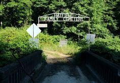 Famous Devil Anse Hatfield Cemetery Hatfield/McCoys
