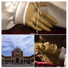 Child Saint Maria Goretti's final resting place is Nettuno, Italy, where her remains have been preserved in the crypt of a basilica named after her. Catholic News, Catholic Saints, Incorruptible Saints, St Maria Goretti, Dood, News Agency, Santa Maria, Spanish, Prayers