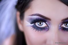 Exotic makeup portrait by mikefard, via Flickr