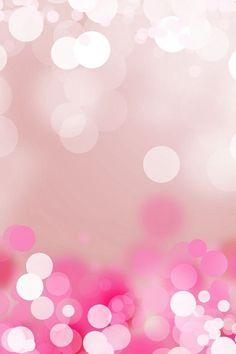 Pink glitter.