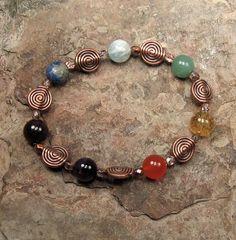 Reiki Stone Bracelet  Chakra Balancing by PreciousReikiGems, $15.00
