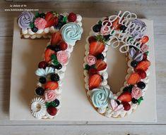 Birthday Msgs, 70th Birthday Cake, Macaroon Cake, Beautiful Birthday Cakes, Number Cakes, Macaroons, Party Time, Birthdays, Cream