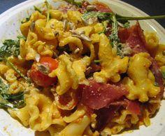 Rezept Pasta mit Rucola und Schinken von sabri - Rezept der Kategorie sonstige Hauptgerichte
