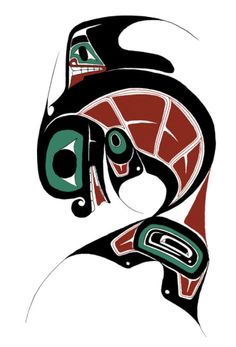 size: Giclee Print: Killer Whale by Danny Dennis : Artists Giclee PrintbrEdition of brSigned in the platebrbr Inuit Kunst, Arte Inuit, Native Art, Native American Art, Native Symbols, Native Canadian, Canadian Art, First Nations, Brainstorm