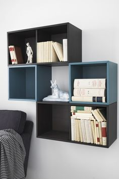 You can create your own unique solution by freely combining VALJE cabinets from IKEA of different sizes and colors, with or without doors and drawers.