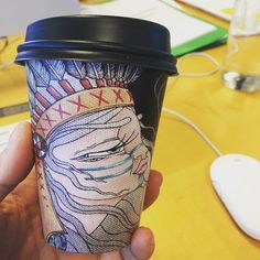 Another day, another coffee cup #biocupartseries #rebeccamurphy
