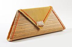 wood clutch RWOODB clutch purse