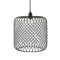 at home in an urban rooftop, our mid-century modern–inspired chelsea hang lamp demonstrates that outdoor lighting can have just as much style and ele