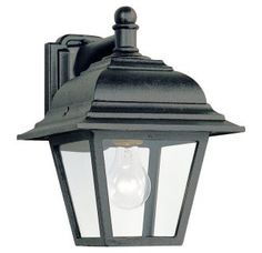 View the Sea Gull Lighting 8816 Bancroft 1 Light Outdoor Lantern Wall Sconce at LightingDirect.com.