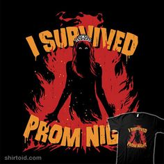"""""""Prom Survivor"""" by Baz I survived prom night. Inspired by Carrie Best Horror Movies, Scary Movies, Horror Films, Carrie White, King Book, Danse Macabre, Very Scary, Best Horrors, Laugh At Yourself"""