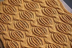 Ravelry: Golden Dreams scarf by Katya Wilsher