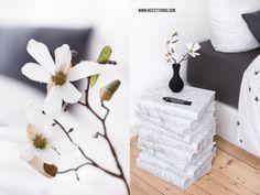 Marmor DIY Büchertisch