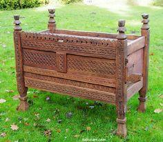antik orient schrank Truhe schrank chest  Swat valley Pakistan Afghanistan