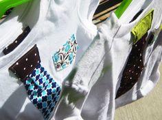 Custom Boy Tie Shirt or Onesie by UtterChaosByJodi on Etsy, $18.00