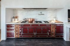 Vintage barn frame addition to Dutch stone house - Traditional - Kitchen - Boston - by KATE JOHNS AIA
