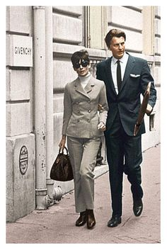 Audrey Hepburn loved Givenchy. Givenchy loved Audrey Hepburn.
