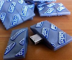 Condom USB Drive Make sure to always use protection when storing your digital files, you never know when you're going to get a nasty virus. These 8GB USB sticks are designed to look like a Durex condom, a great gift for any virgin computer nerd.