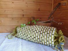 Sakari-saunatyynyn päällinen valmistetaan tilauksesta - by itu - Itu, Straw Bag, Bags, Design, Handbags, Bag, Totes, Hand Bags