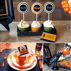 A Classic & Rustic Kids Halloween Party